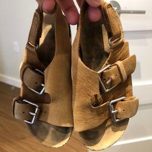 Zara toddler boy sandals size 24/ 7